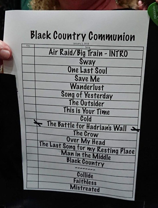 Black Country Communion Live 4