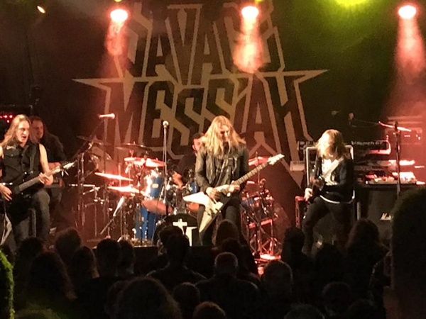 Savage Messiah - live 2019