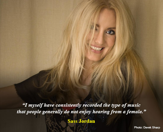 Sass Jordan - Interview 2