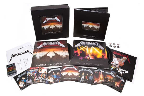 Metallica - Master Of Puppets - Re-Release News